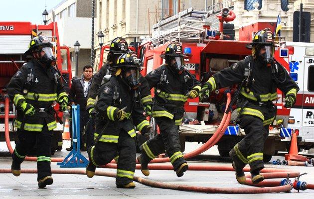 bombero en Los Palacios y Villafranca