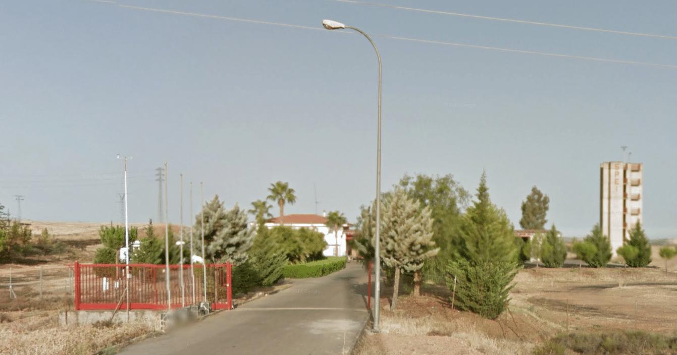 bombero en la Junta de Extremadura